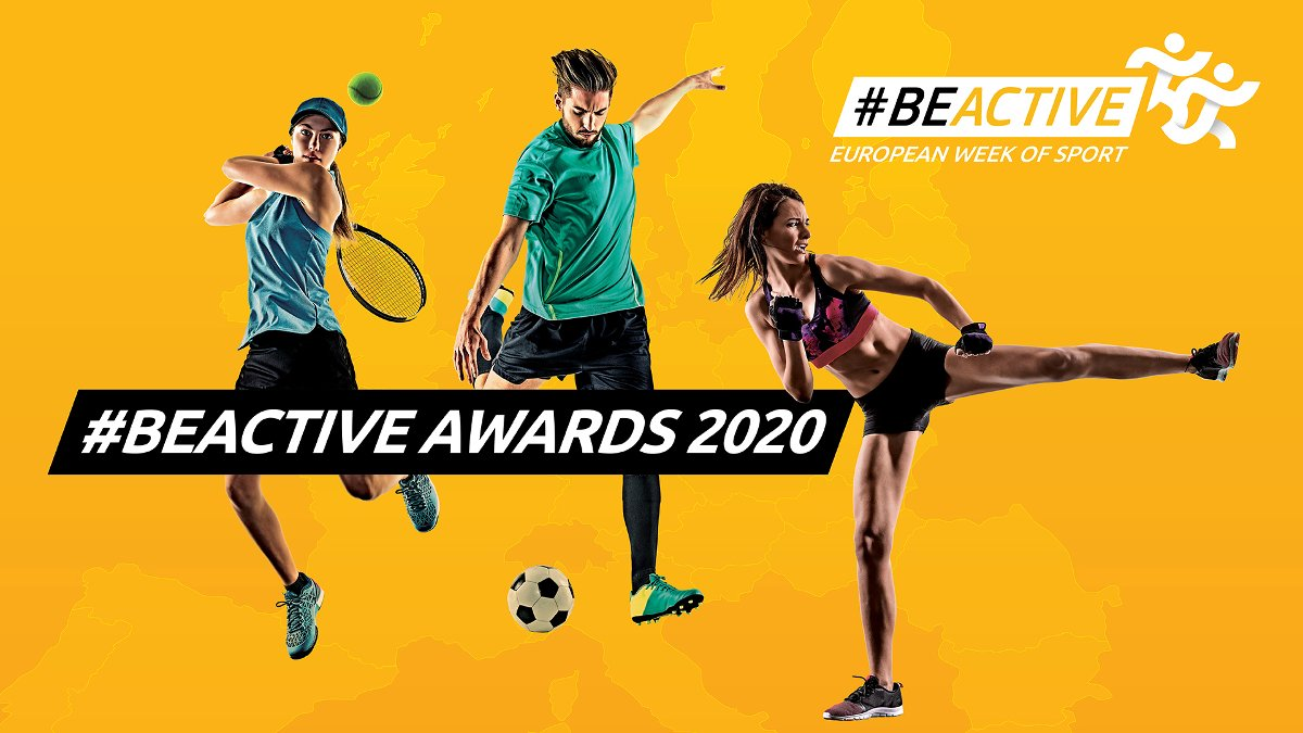#BeActive 2019 winners receiving their prizes