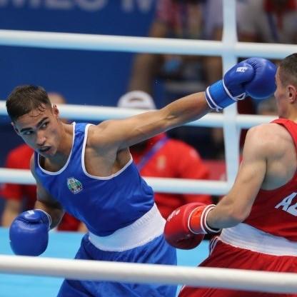 Boyan Asenov boxing