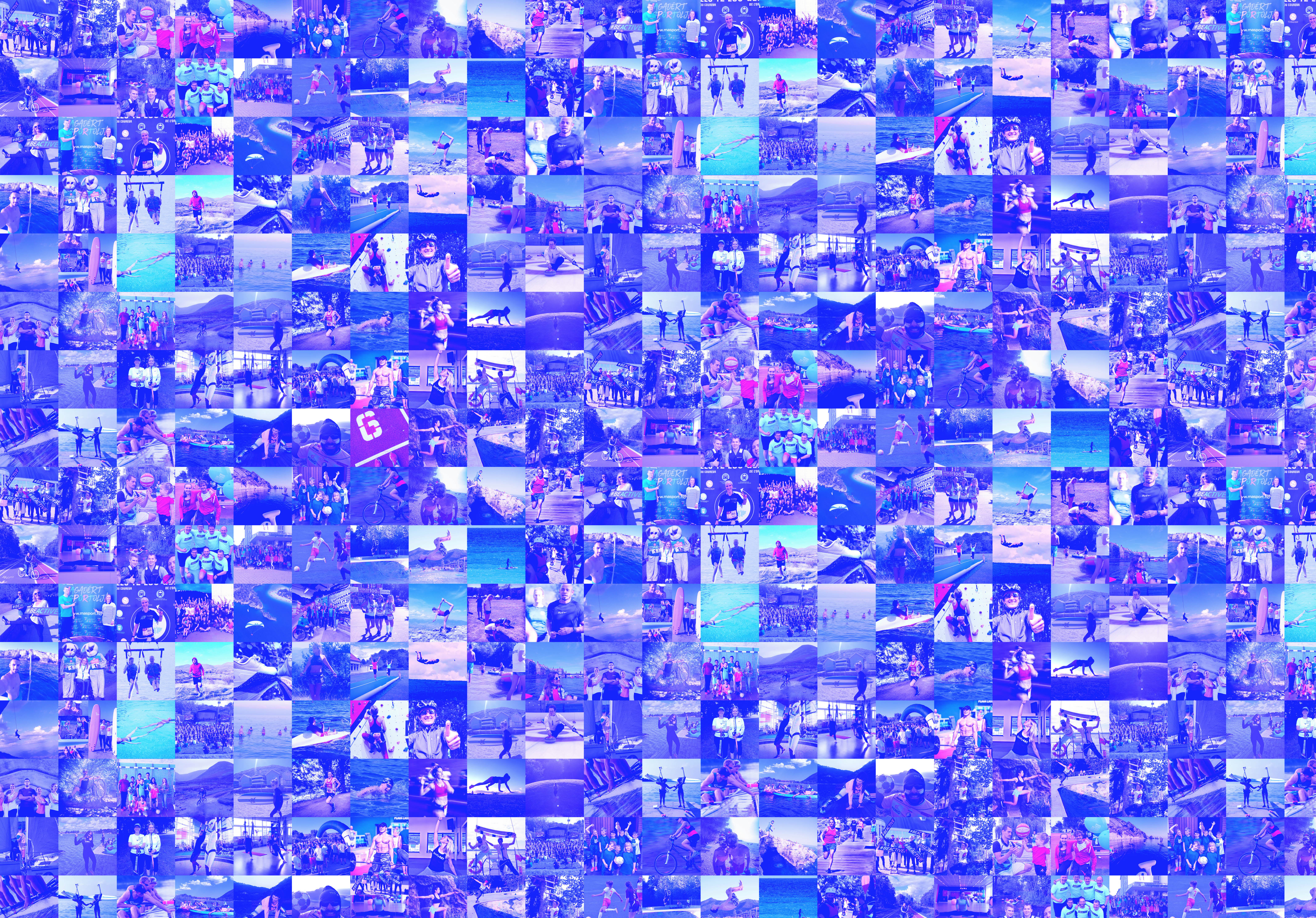 Mosaic of participants in last year's competition