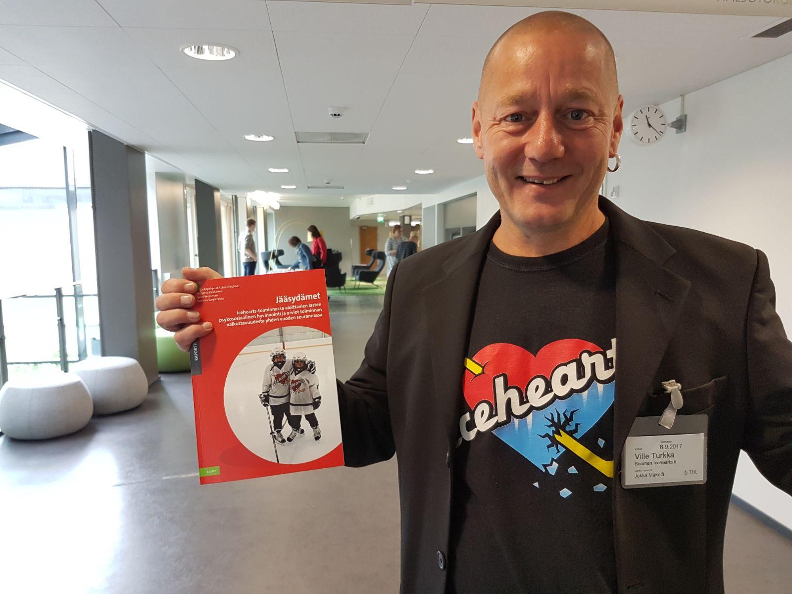 Finnish social worker Ville Turkka
